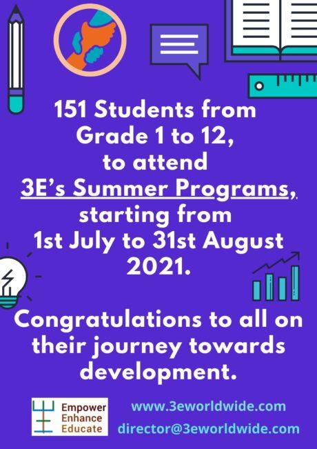 Summer Program Post-1